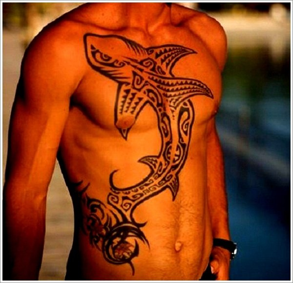 Shark tattoo designs (13)