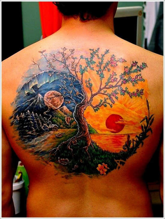 Yin Yang Tattoo Designs (14)