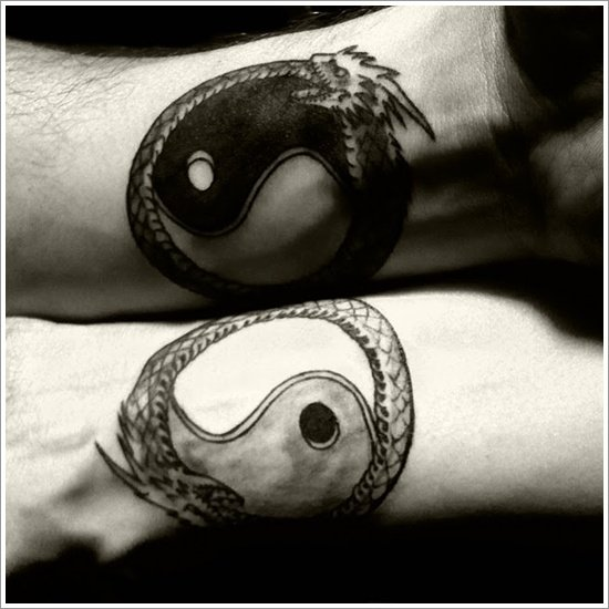 Yin Yang Tattoo Designs (20)