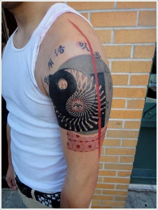 Yin Yang Tattoo Designs (3)