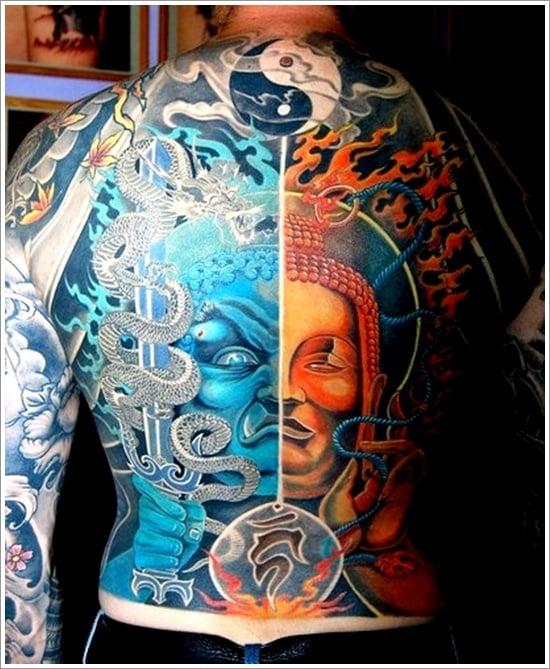 Yin Yang Tattoo Designs (9)
