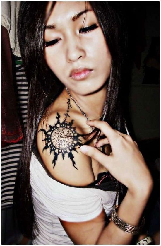 sun Tattoo designs (12)