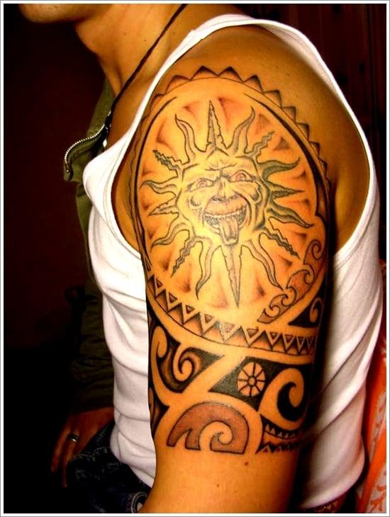 sun Tattoo designs (13)