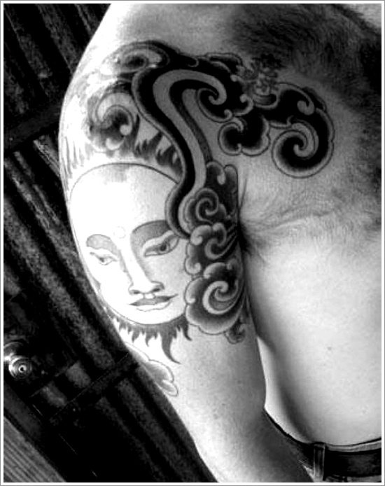 sun tattoo designs ( 16)