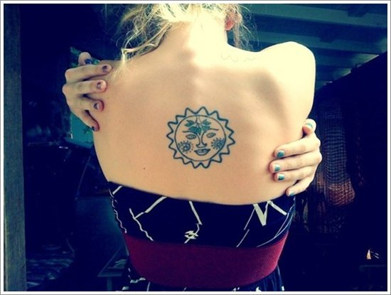 sun tattoo designs ( 18)
