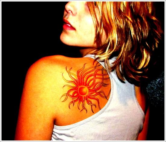 sun Tattoo designs (21)