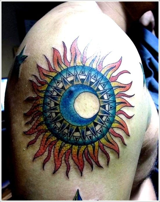 sun Tattoo designs (8)