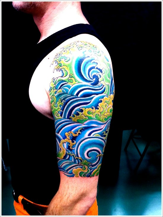 25+ japanese water tattoo designs  tattoo easily
