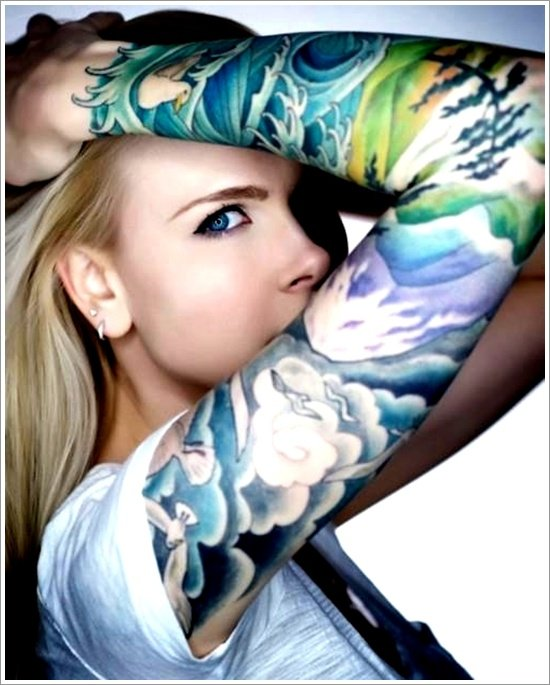 water tattoo designs