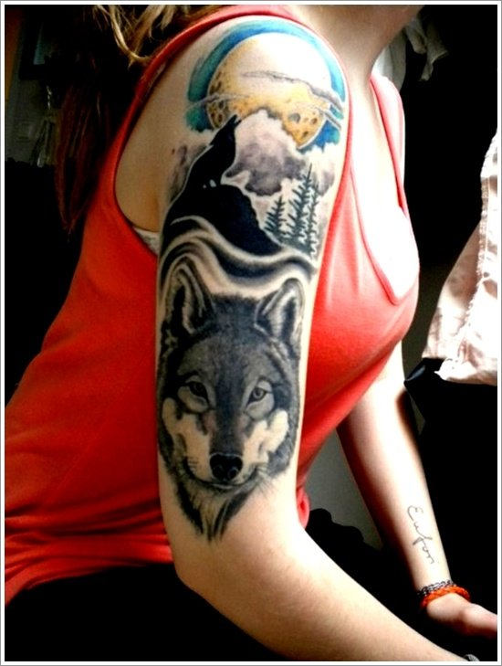 wolf tattoo designs (18)