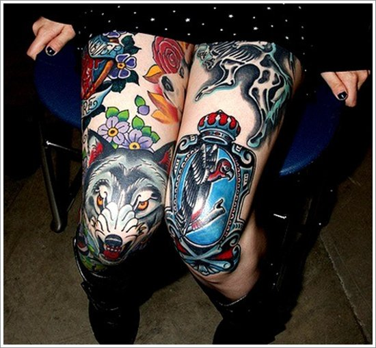 wolf tattoo designs (22)
