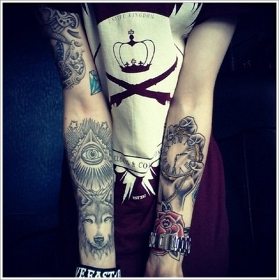 wolf tattoo designs (25)