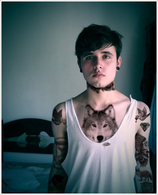 wolf tattoo designs (30)