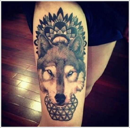 Tattoo Woman In Wolf: 101 Meaningful Wolf Tattoo Designs