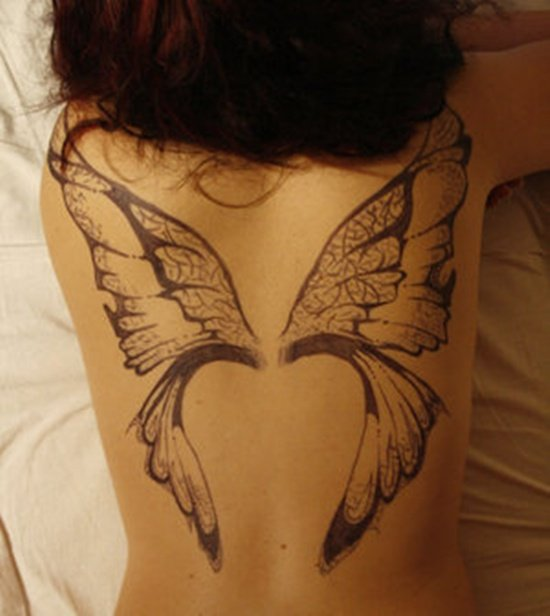 Tattoo Designs Wings: 35 Creative Wings Tattoo Design Art Examples