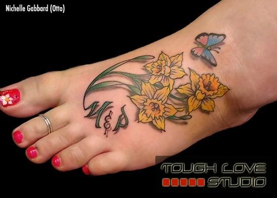 Jonquil Tattoo Designs