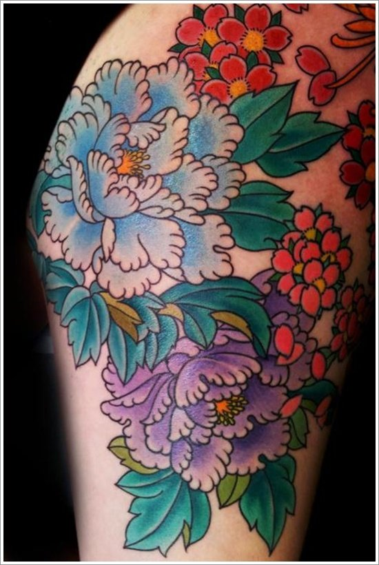 30 Amazing Peony Tattoo Designs To Try This Year