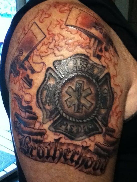 tattoo shield designs tattoos powerful ribbon eye tattooeasily