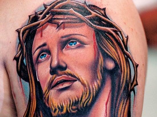 45 jesus tattoo designs for Tattoo of jesus