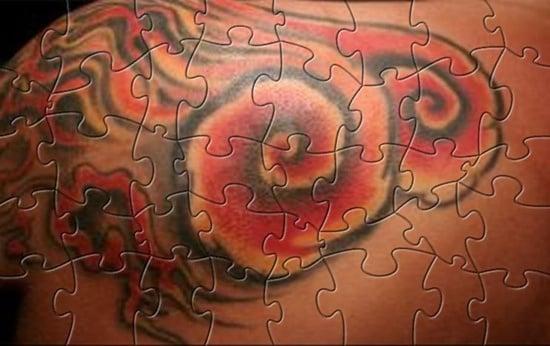 25 Smart Puzzle Tattoo Designs