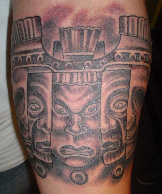 aztec tattoo (11)