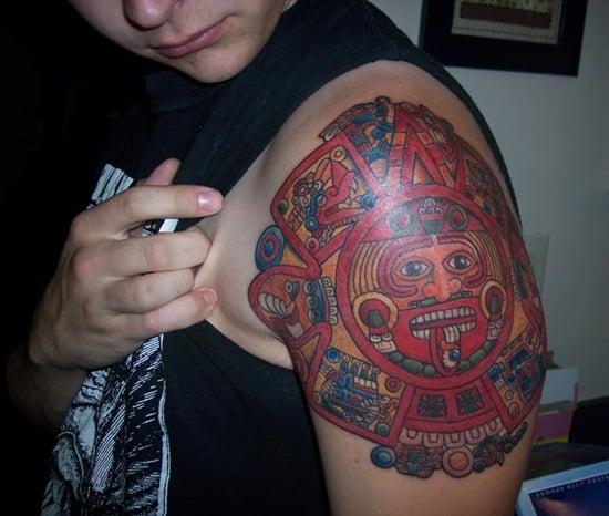 aztec tattoo (13)