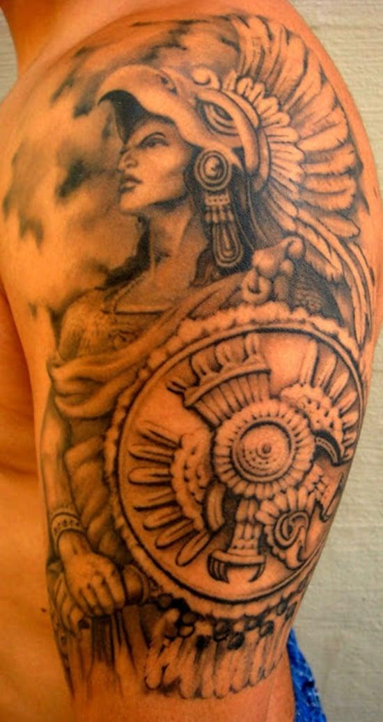 aztec tattoo (21)