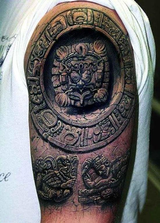 aztec tattoo (23)