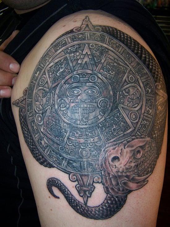 aztec tattoo (28)