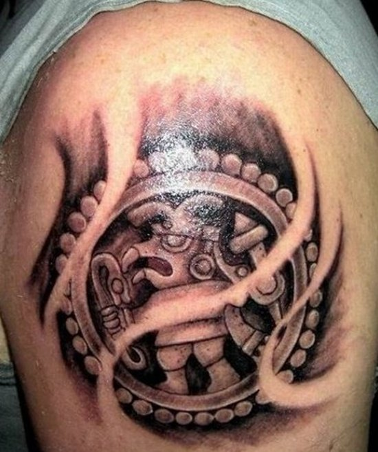 aztec tattoo (8)