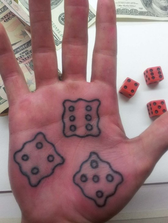 dice tattoo (11)