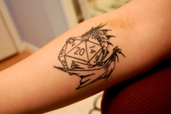 dice tattoo (17)