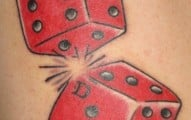 dice tattoo (18)