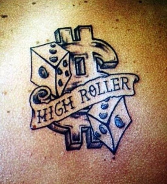 dice tattoo (20)