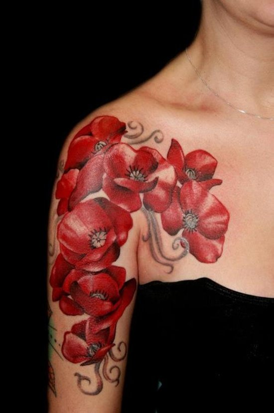 dogwood flower tattoo (15)