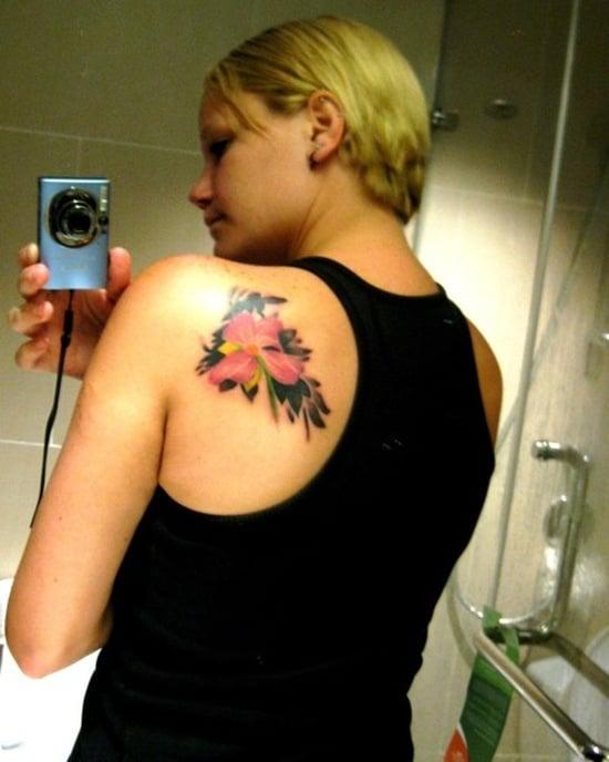 dogwood flower tattoo (18)