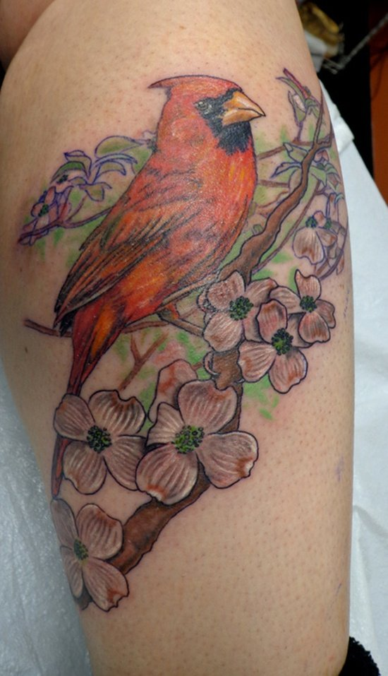 dogwood flower tattoo (2)