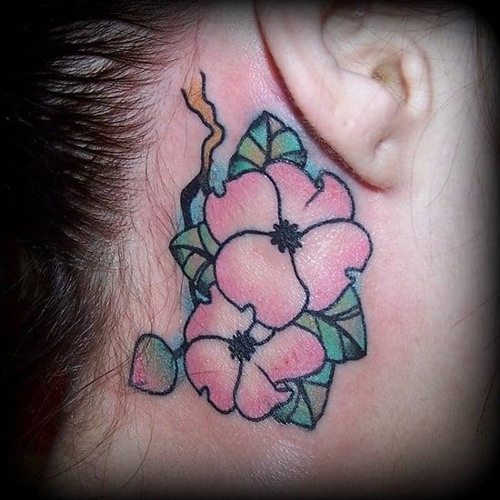 dogwood flower tattoo (22)