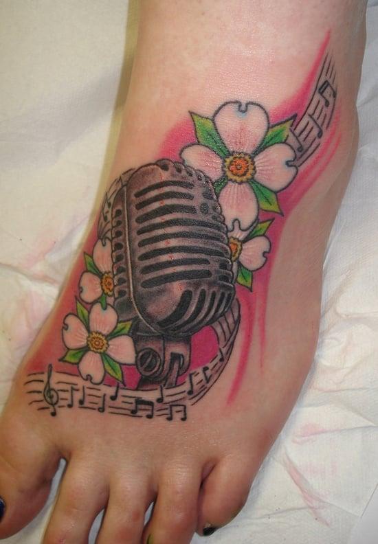 dogwood flower tattoo (5)