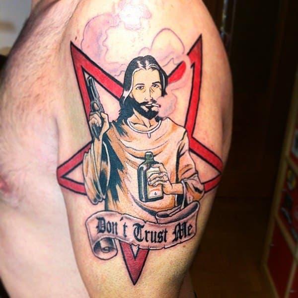 45 Jesus Tattoo Designs Yeshua Tattoo