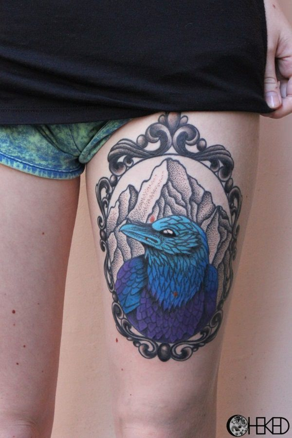 10 Raven tattoos81011280