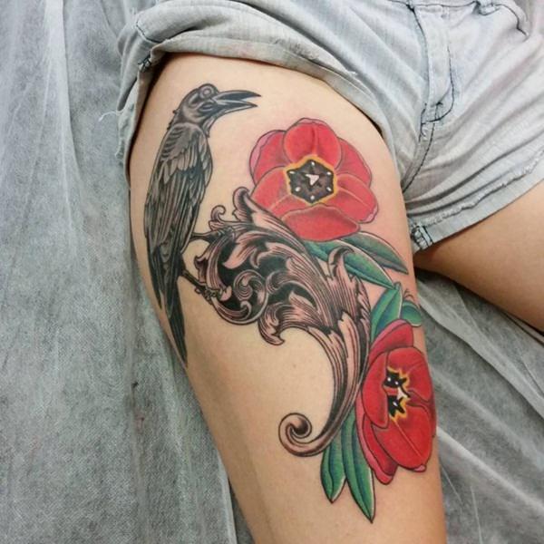 14 Raven tattoos21650650