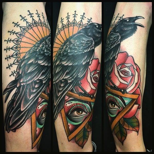 16 Raven tattoos18