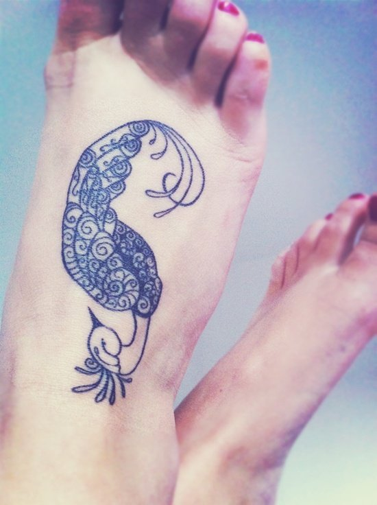 Feet Tattoo Designs (13)