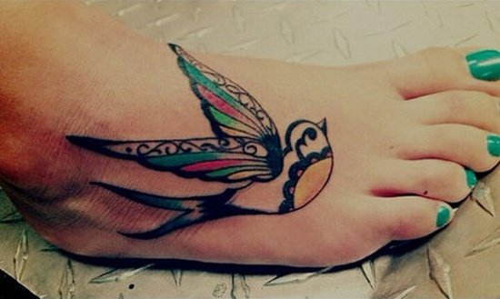 Feet Tattoo Designs (16)