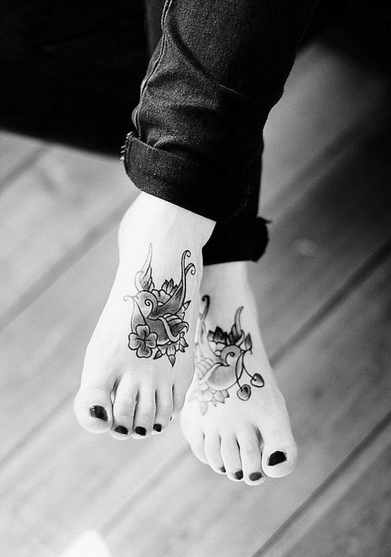 Feet Tattoo Designs (17)