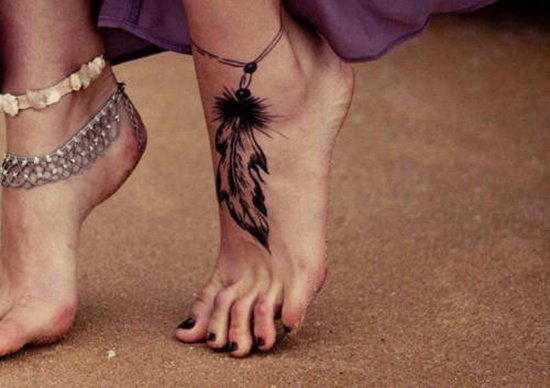 Feet Tattoo Designs (18)