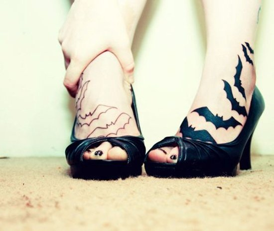 Feet Tattoo Designs (19)