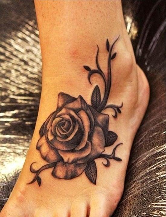 Feet Tattoo Designs (21)
