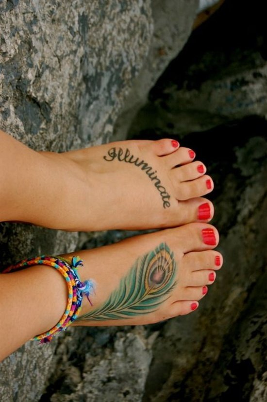 Feet Tattoo Designs (25)